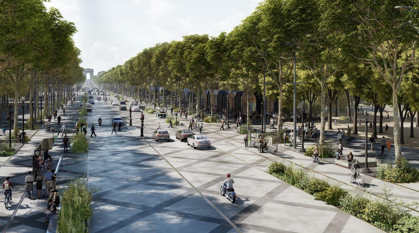 Trasformarea celui mai frumos bulevard din lume: Paris visează la un Champs Elysées mai