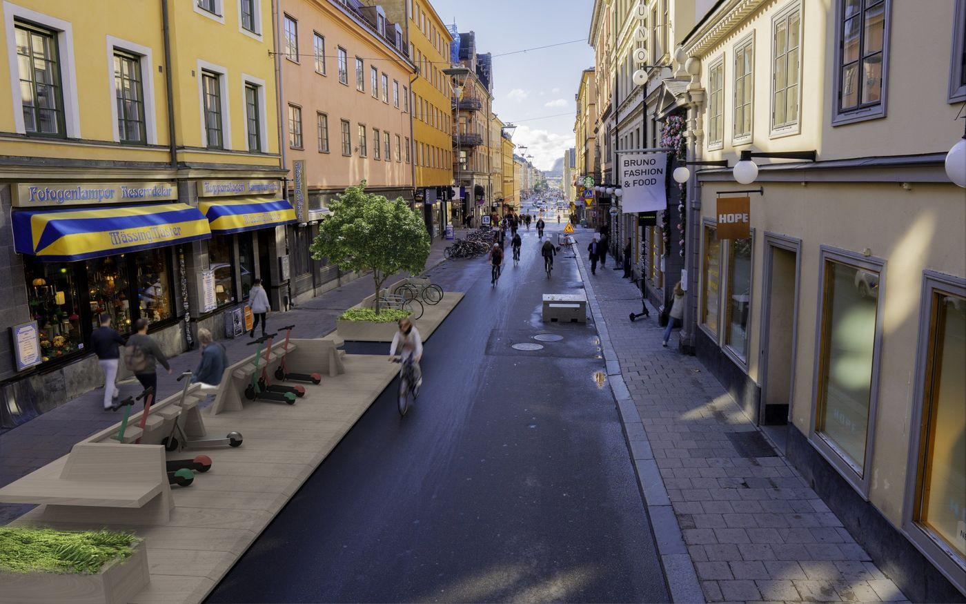 One-Minute City: O schimbare mică în proiectarea străzilor din Suedia